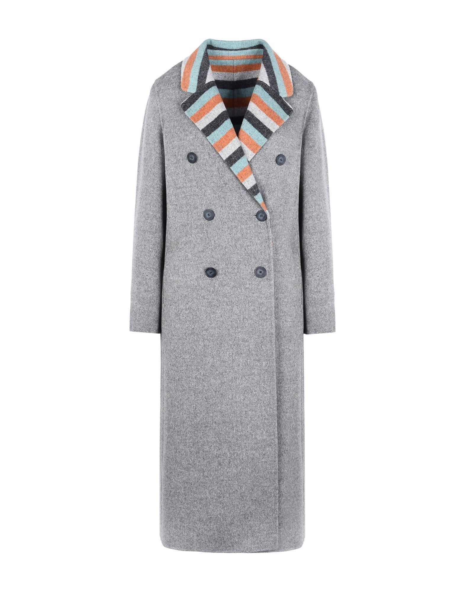 EMPORIO ARMANI Пальто 2016 осенью дамы сукно slim шерстяные пальто в длинные пальто