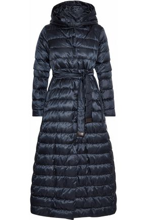 MAX MARA Novel reversible quilted shell down hooded coat