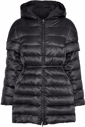 MAX MARA Novea reversible quilted shell down hooded coat