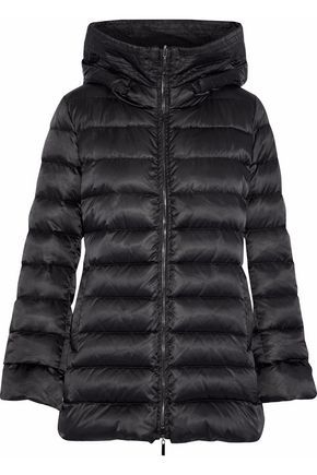 MAX MARA Reversible quilted shell hooded coat