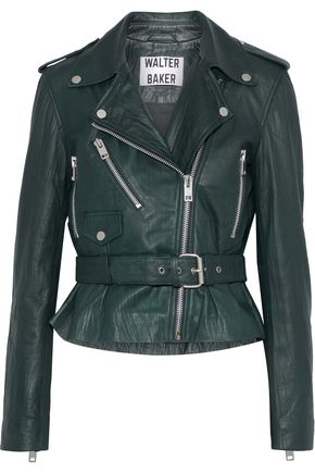 W118 by WALTER BAKER Celina leather biker jacket