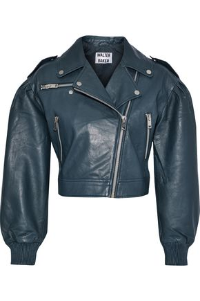 W118 by WALTER BAKER Kai leather biker jacket