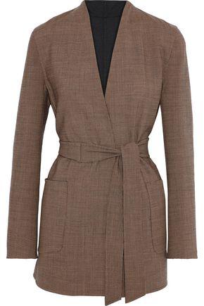 WEEKEND MAX MARA Geisha reversible houndstooth wool-blend jacket