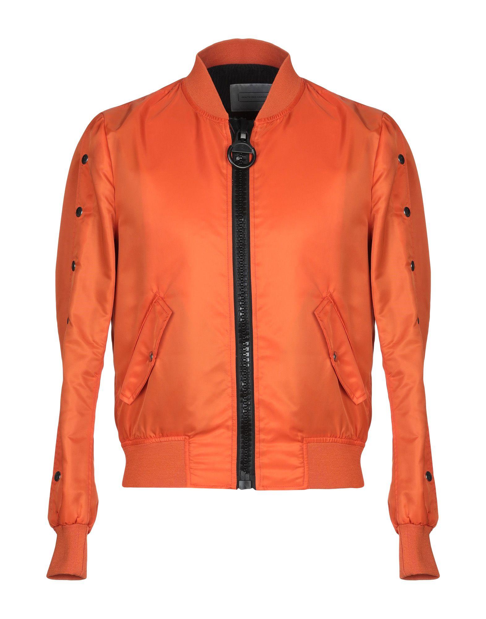 《セール開催中》ROUTE des GARDEN メンズ ブルゾン オレンジ 46 ナイロン 100%