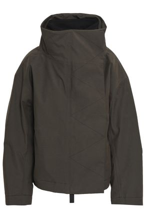 TEMPLA Cotton-blend woven down jacket