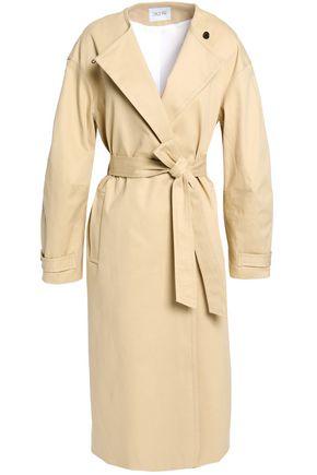 HOUSE OF DAGMAR Double-breasted cotton-blend ganardine coat