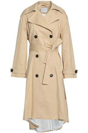 HOUSE OF DAGMAR Cadyna cotton-blend gabardine trench coat