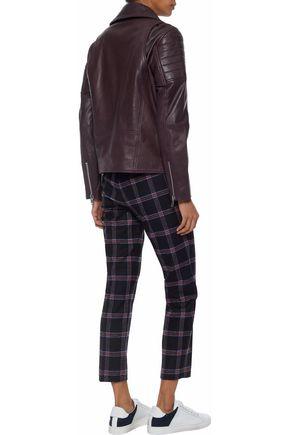 W118 by WALTER BAKER Alea leather biker jacket