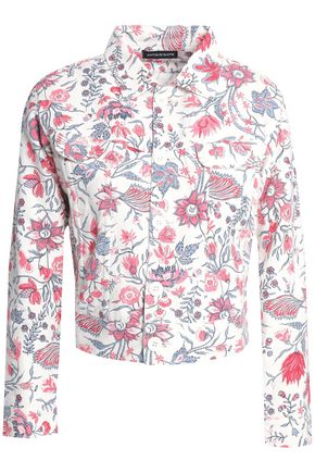 ANTIK BATIK Floral-print cotton-canvas jacket