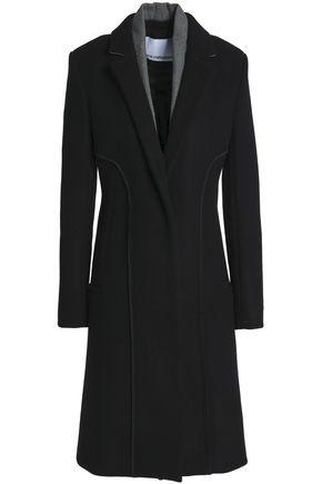 PACO RABANNE Wool-blend felt coat