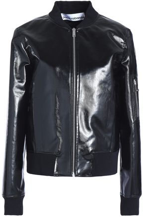 PACO RABANNE Coated cotton-canvas bomber jacket
