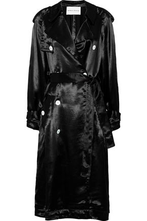 SONIA RYKIEL Satin trench coat
