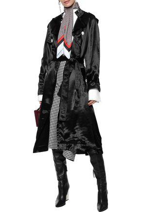 SONIA RYKIEL Satin trench coat