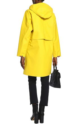 RAG & BONE Coated cotton-blend hooded raincoat