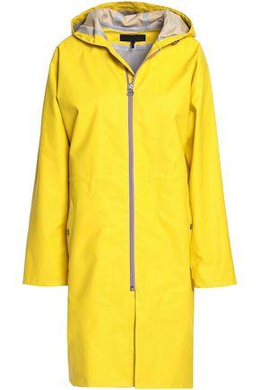 RAG & BONE Kenna coated cotton-blend hooded jacket