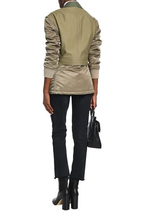 RAG & BONE Modular convertible cotton-canvas and shell jacket