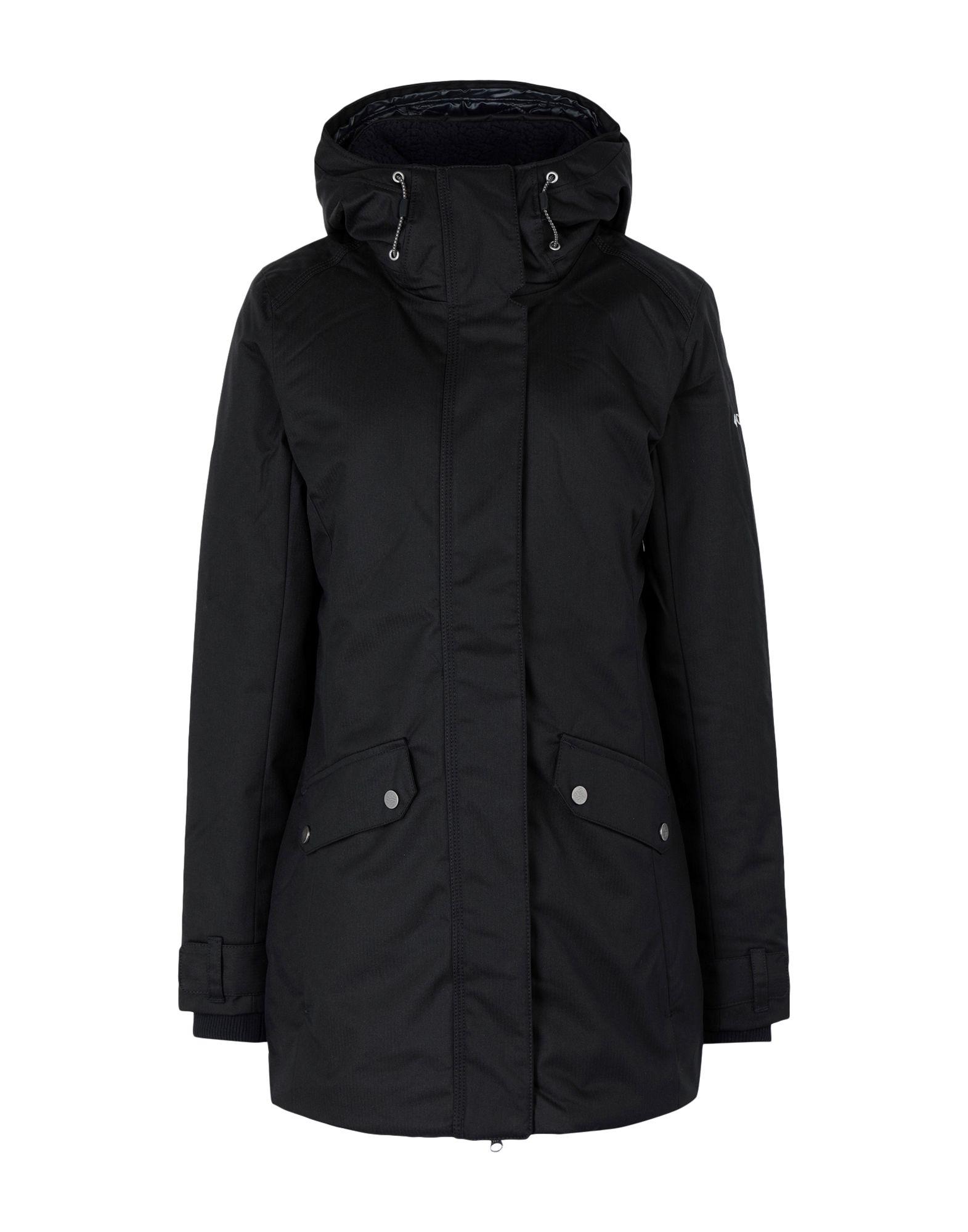 《送料無料》COLUMBIA レディース コート ブラック XS ポリエステル 100% Pine Bridge Jacket