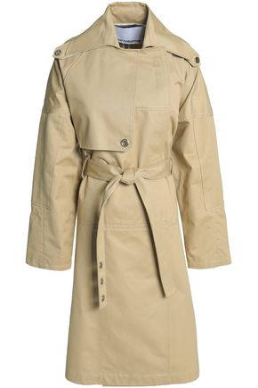 PACO RABANNE Cotton-gabardine trench coat