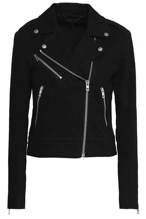 RAG & BONE Bowery denim biker jacket