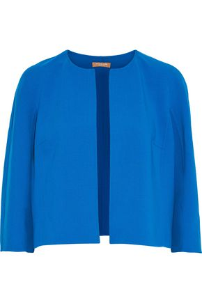 MICHAEL KORS COLLECTION Cropped stretch-wool crepe jacket