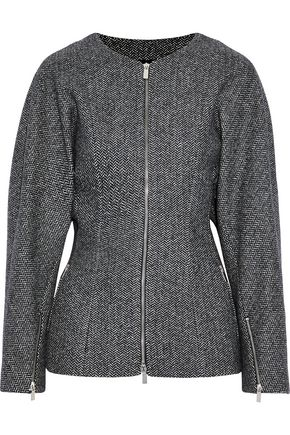 MICHAEL KORS COLLECTION Herringbone wool-blend jacket