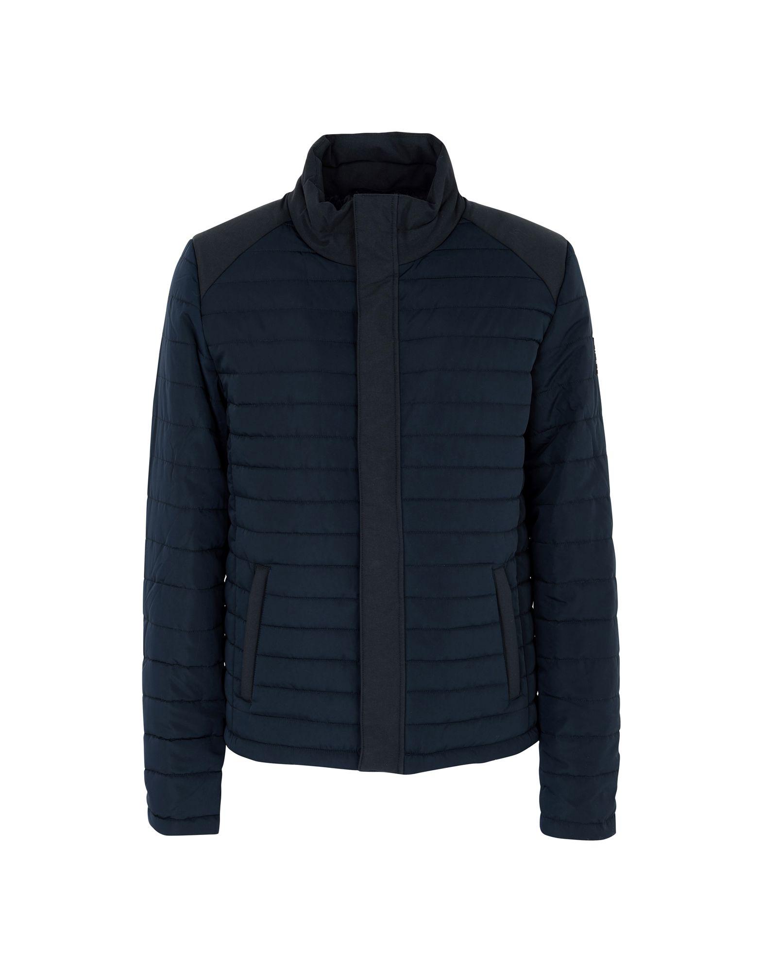 ECOALF Synthetic Down Jackets in Dark Blue