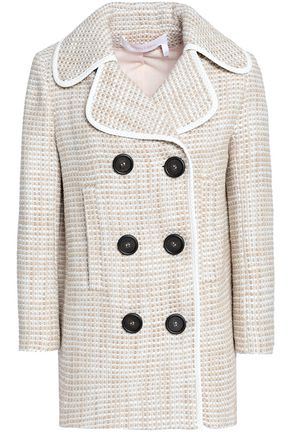 SEE BY CHLOÉ Double-breasted tweed coat