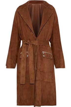 YVES SALOMON Suede coat