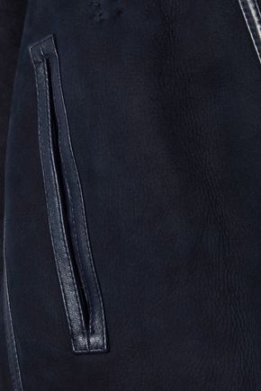 METEO by YVES SALOMON Reversible shearling vest