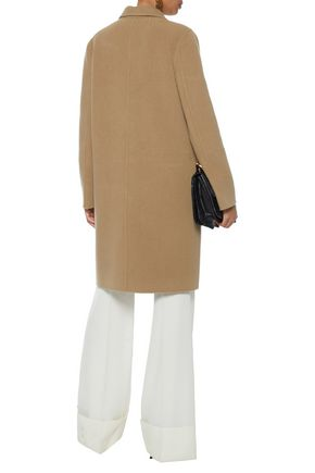 YVES SALOMON Wool and cashmere-blend coat