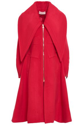ANTONIO BERARDI Wool-blend felt coat