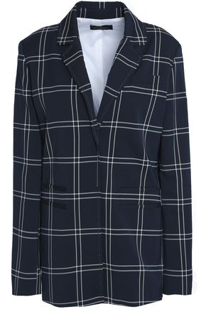 PIAZZA SEMPIONE Checked twill blazer
