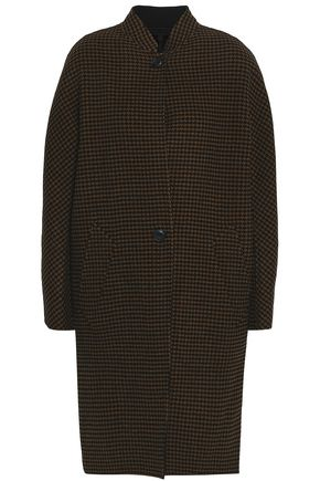 RAG & BONE Houndstooth wool and cashmere-blend coat