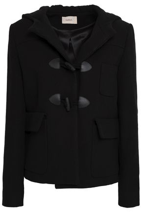 BA&SH Felt hooded coat