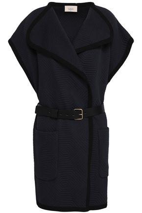 BA&SH Belted quilted cotton-blend vest