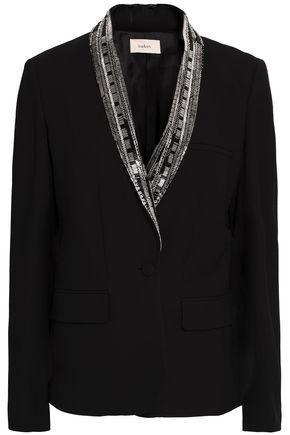 BA&SH Embellished crepe blazer