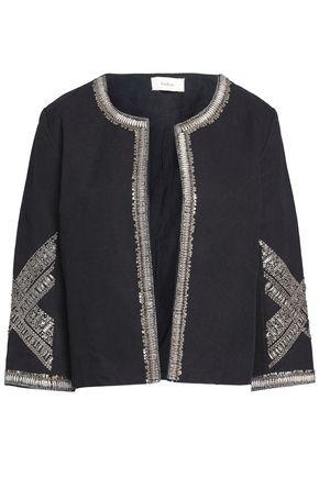 BA&SH Embellished cotton-canvas jacket