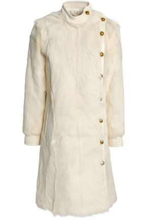 TORY BURCH Shearling coat
