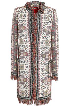 TALITHA Cotton and silk-blend jacquard jacket