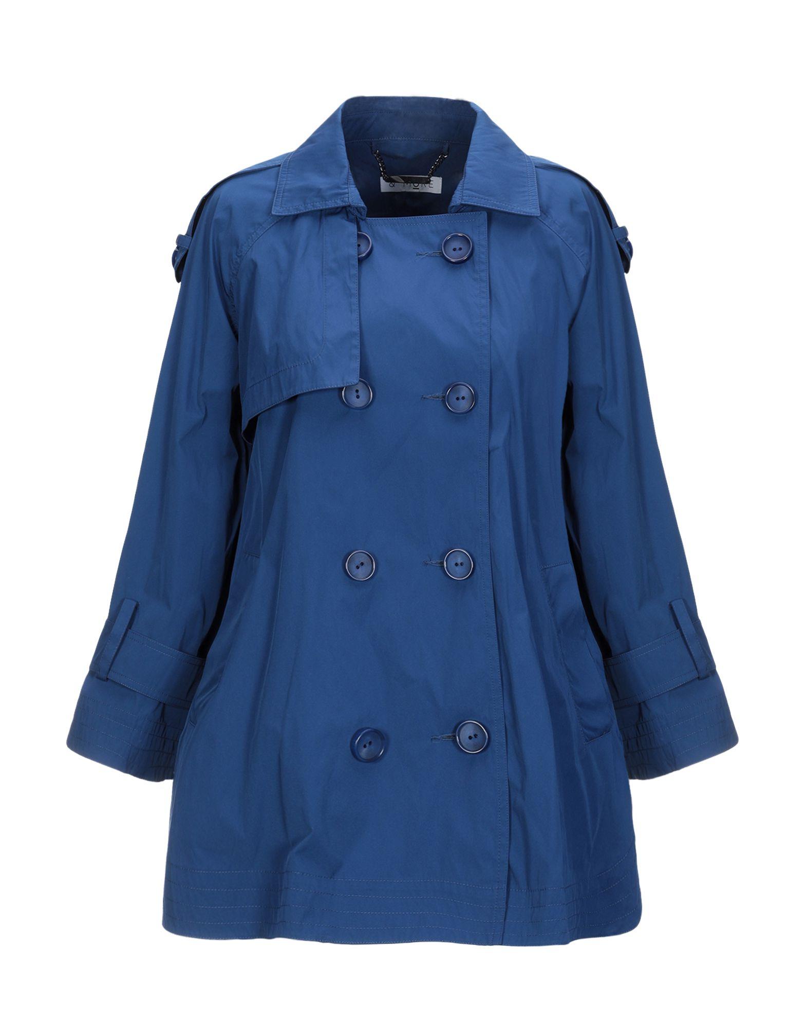 《期間限定セール中》& MoRE レディース ライトコート ブルー M ポリエステル 100%