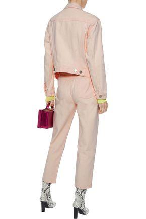 3.1 PHILLIP LIM Zip-detailed denim jacket