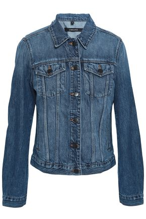 J BRAND Frayed denim jacket