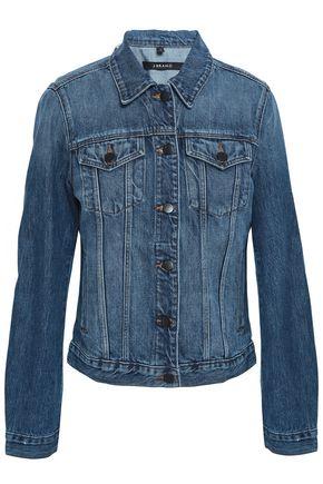 J BRAND Frayed denim jacket