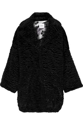 AINEA Oversized faux fur coat