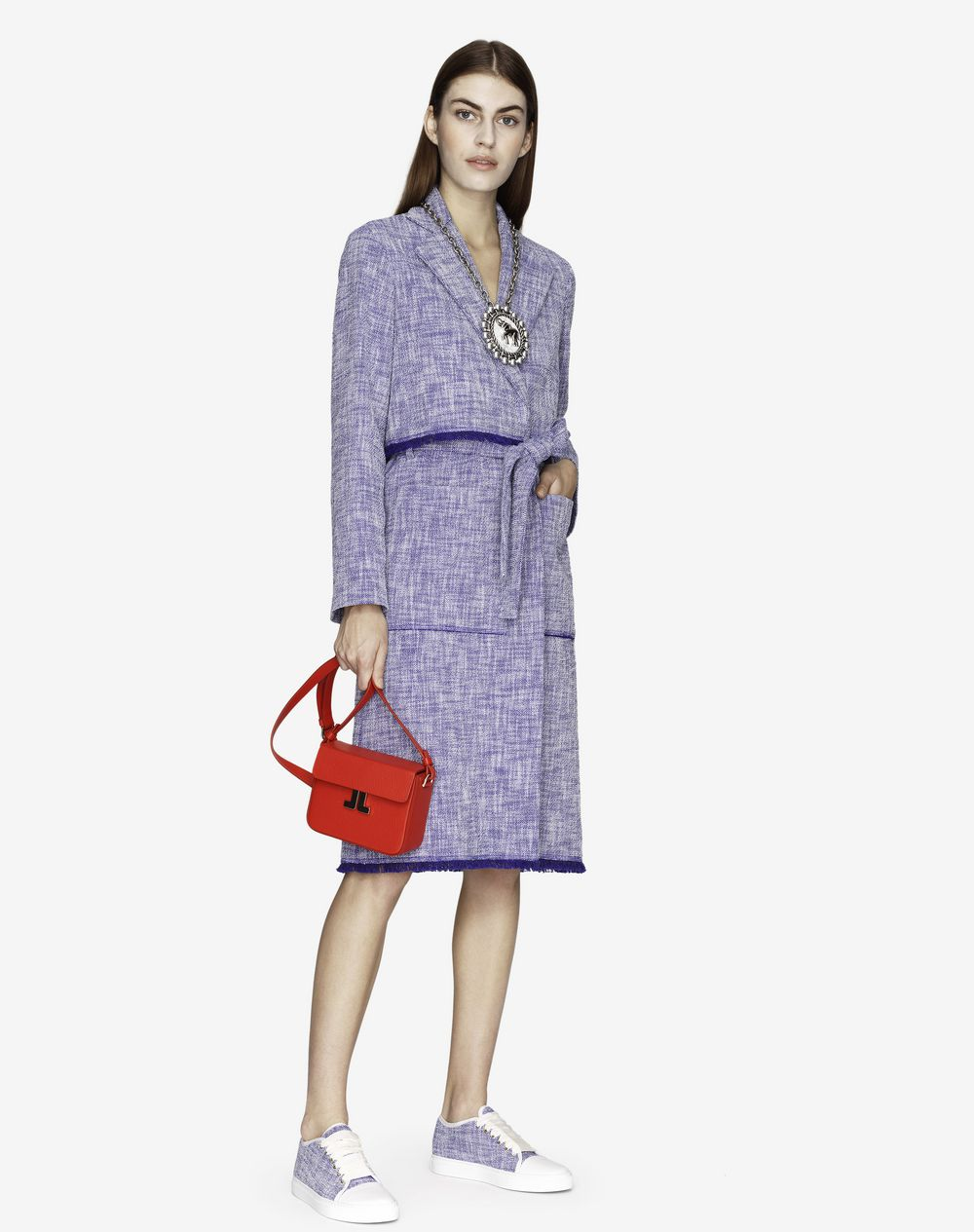 TWEED TRENCH COAT  - Lanvin