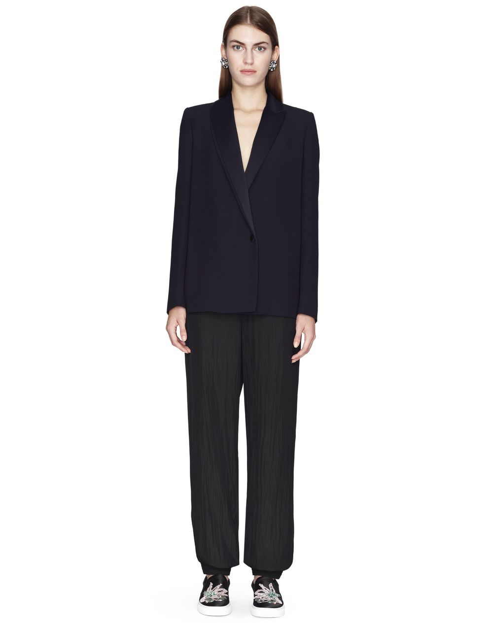 MIDNIGHT BLUE TAILORED JACKET - Lanvin