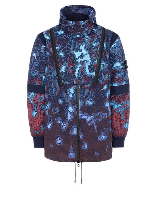 Mid-length jacket 449E1 PRINTED HEAT REACTIVE_TESSUTO TERMO SENSIBILE  STONE ISLAND - 0