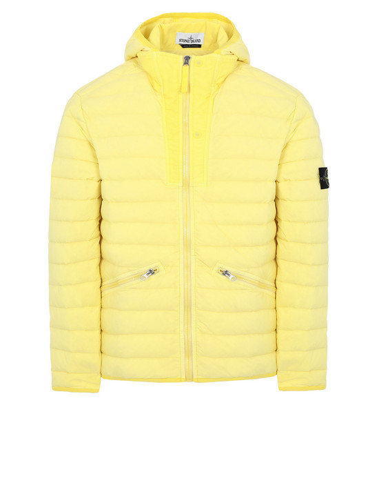 Blouson 43125 LOOM WOVEN DOWN CHAMBERS STRETCH NYLON-TC STONE ISLAND - 0