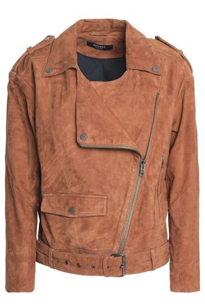MUUBAA Suede biker jacket