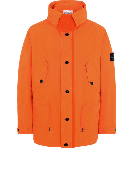 Mid-length jacket 44448 DAVID FLUO STONE ISLAND - 0